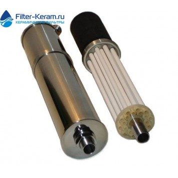 Фильтр керамический для очистки воды Аквакон 0,1у без монтажного набора и гидробака